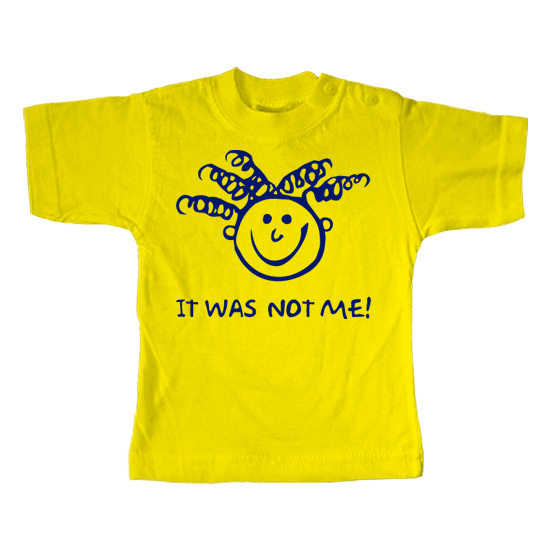 It was not me  - Lustiges T-Shirt