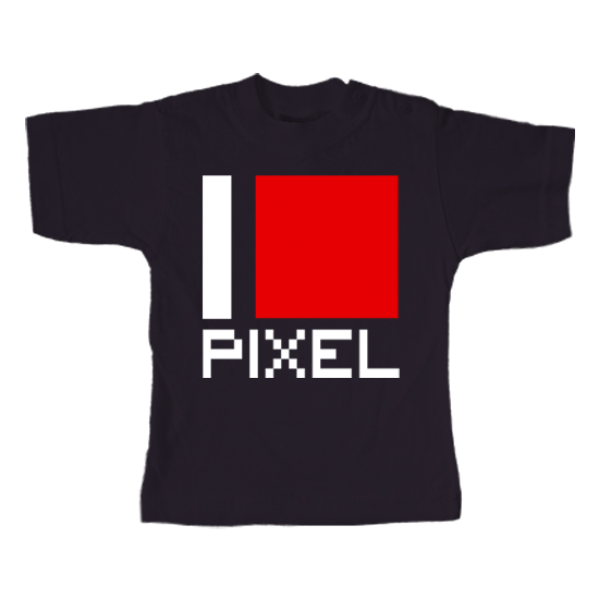 I Love Pixel  - Lustiges T-Shirt