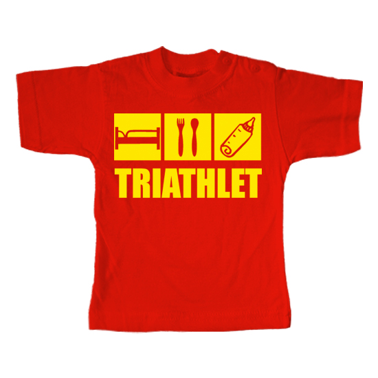 Triathlet  - Lustiges T-Shirt