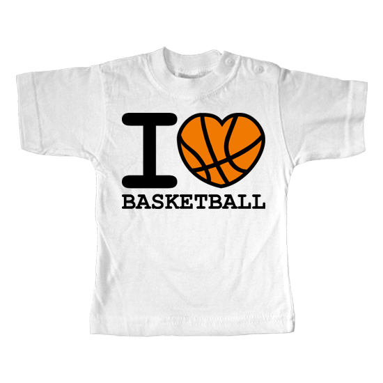 I Love Basketball  - Lustiges T-Shirt