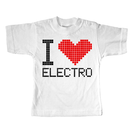 I Love Elektro  - Lustiges T-Shirt