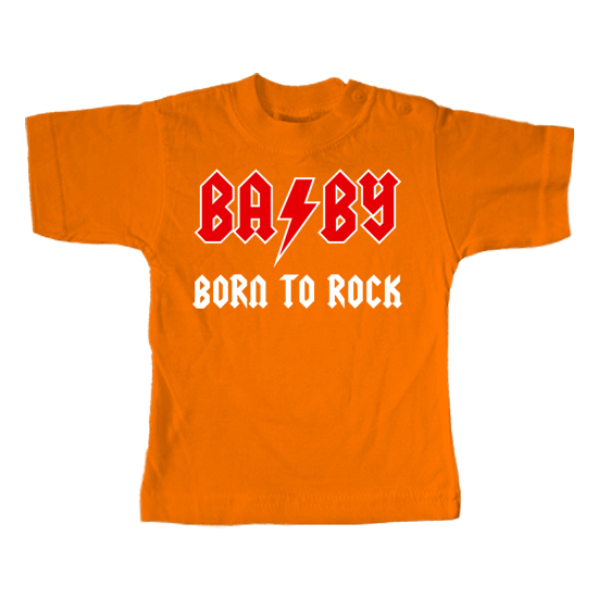 BABY Born to Rock  - Lustiges T-Shirt