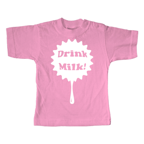 Drink Milk  - Lustiges T-Shirt